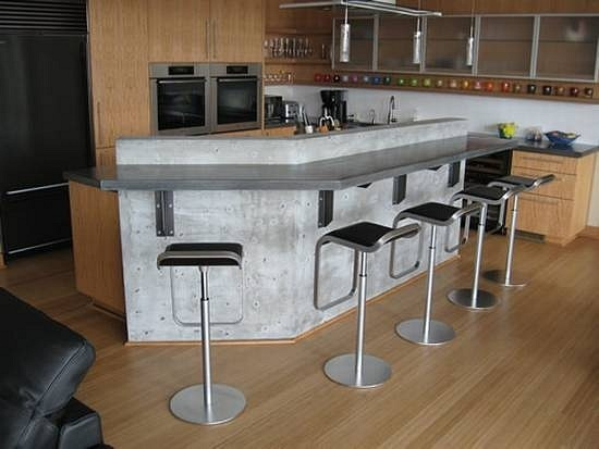Дизайн средней кухни