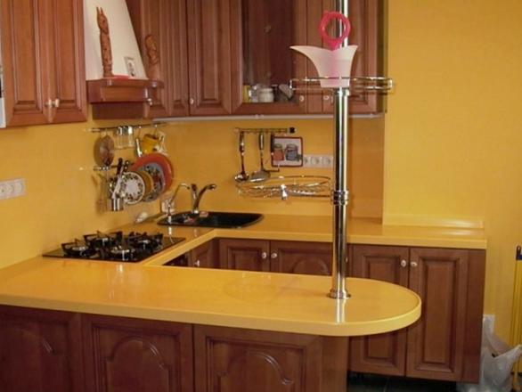 Кухня кухня а ведь барная стойка